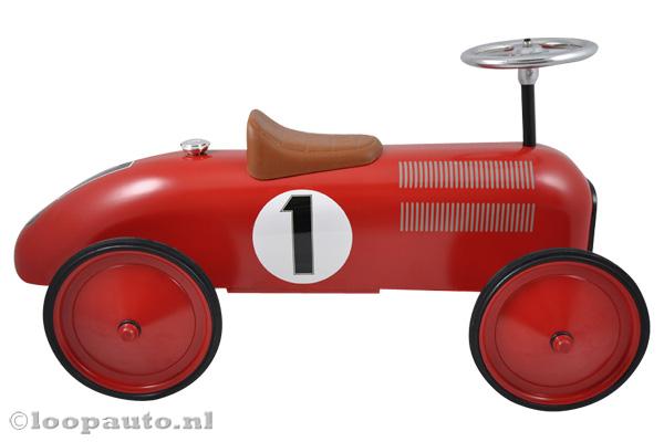 Ook jij kunt nr 1 worden met deze red racer