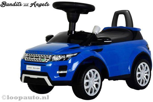 Range Rover Evoque blauw