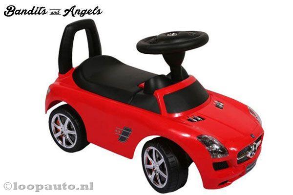 Bandits Angels Mercedes Benz Sls Amg Rood Loopauto Nl