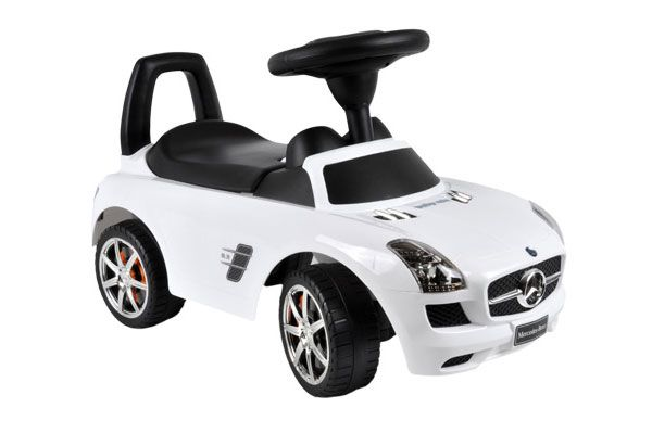 Loopauto Mercedes Benz SLS AMG wit.