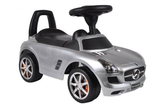 Mercedes Benz SLS AMG zilver