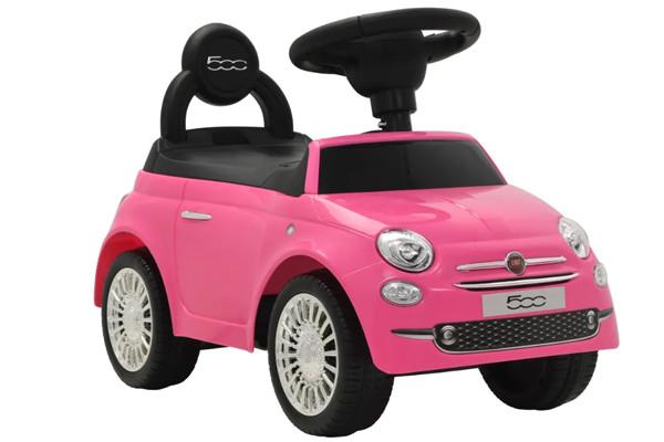 Fiat 500 Roze Evt Op Naam Mogelijk Via Naamstickers