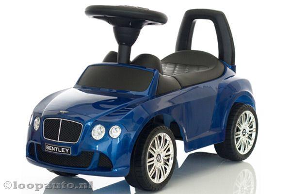 Bentley Continental GT blauw