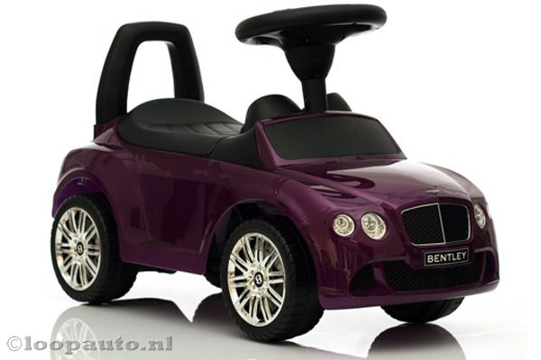 Bentley Continental GT paars