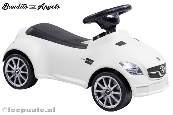 Mercedes-Benz SLK 55 AMG wit