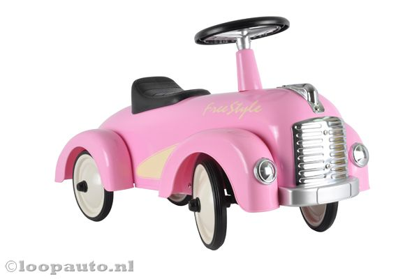Racing Team - Free Style roze
